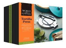 """Mexican Tortilla Flat Bread Taco Press Mould Maker 20cm X 25cm / 8"""" X 10"""""""