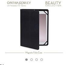Cynthia Rowley 7-8inch Tablet/iPad Case Magnetic Folio Black Gold Rrp £22.99