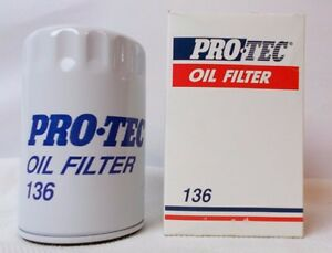 Pro Tec Engine Oil Filter 136