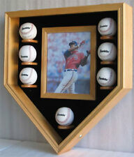 Pro UV Baseball & Photo Display Case Cabinet Holder Shadow Box, B07-OA