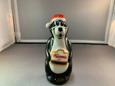 Vintage 1995 Hamm'S Beer Santa Bear Figurine - Wade Of England