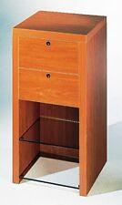 Banco vendita cassettiera cassa mobile mobiletto legno con cassetti e ripiani