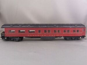 Athearn - Canadian Pacific - Standard Observation Car + Wgt # 123 w/Kadees
