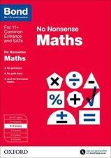 Bond: Maths: No Nonsense: 8-9 Years New Paperback Book Sarah Lindsay