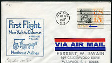 BAHAMAS (10536) FFC Northeast Airlines cover