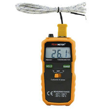 Digital Temperature Meter Wireless K-Type Thermocouple Thermometer LCD