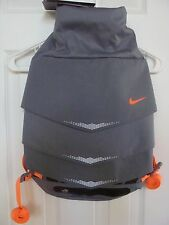 New Nike Mog Bolt Daypack Backpack BA4968 080 Orange/Grey