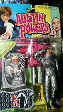 """Austin Powers 6"""" Talking Figure Dr. Evil """"Welcome to my moon base."""" New!"""