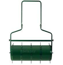 Rasen - Aerator Vertikutierer Arefizierer Rasenlüfter 5-teiliges Set in grün