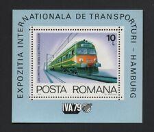 ROMANIA 1979 INTERNATIONAL TRANSPORT EXHIBITION M/SHEET (MS4541) *MNH*