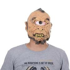 Adult Mutant Cyclops Cyborg  Mask One Eye Monster Mens Halloween Scarry Creppy