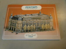 Livre Ingénia  modélisme découpage carton maquette Magasin le Printemps Paris
