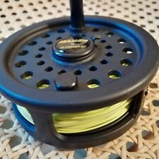 Lureflash Mamba Trout Fishing Reel with Line, both VG Condition