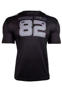 🦍UK L.Genuine Gorilla Wear Fresno T-Shirt. Black/Grey Brand new+tags RRP £39.95