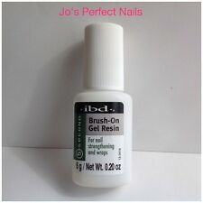 IBD 5 Second Brush-On Gel RESIN 6g Thicker Glue For Nail Strengthening and Wraps