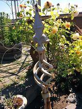 Cast Iron Metal Finial Tripod Topiary Garden Landscape Outdoor Yard Home Decor