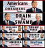 President Donald Trump Bumper Stickers 2016 2020 • Americans Are Dreamers Too ++