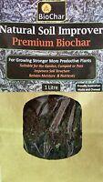 1 L Premium Biochar - Housing Soil Microbes that Your Plants Need to Flourish