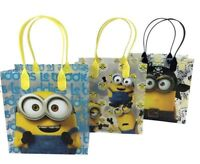 12PCS Despicable Me Minions Goodie Party Favor Gift Birthday Loot Bags Licensed