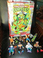 Lot Vintage Teenage Mutant Ninja Turtles Action Figure Splinter Panda Khan Bebop