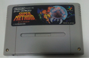 Super Metroid SFC Super Famicom From Japan Video Game