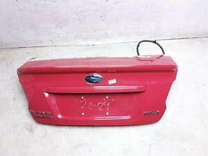 15 16 17 18 19 20 Subaru Wrx Sedan Trunk Lid Rear Deck 57509Va0709p Red