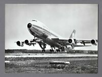 LUFTHANSA BOEING 747-100 LARGE VINTAGE ORIGINAL AIRLINE PHOTO LH GERMANY 1