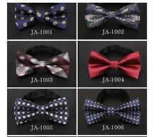 65 Styles Bow Tie Solid Mens Adjustable Wedding Necktie Tuxedo Bowtie Party
