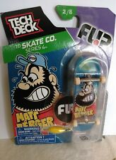2016 Tech Deck TD Skate Co. Series 4 2 8 FLIP Matt Berger Finger Skateboard...