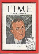 Time Magazine Pacific Pony Edition. Dec 13, 1943. Charles Edward Wilson. WW2.