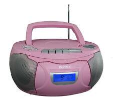 Kassettenrecorder Pink CD Player Kassettenrekorder Rosa TCP39