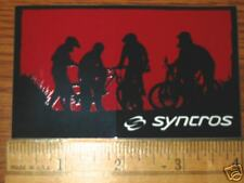 SYNCROS MTB Tri Road Bike Bicycle Frame Sticker Decal a