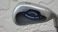 Callaway Steelhead X-16 Single 3 Iron. Constant Weight  Steel Shaft. Uniflex.