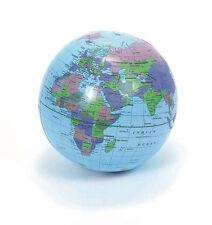 "New 16"" Globe Inflate Earth World Family Teacher Beach Ball Toy Free Shipping"