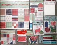 DOCRAFTS PAPERMANIA CHRISTMAS IN THE COUNTRY COLLECTION STAMPS PAPERS CARD KIT