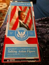 George W Bush 43rd President Toy Action Figure Doll Limited Edition Talking New