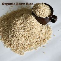 ORGANIC LONG GRAIN BROWN RICE BULK NO CHEMICALS NO ADDITIVES