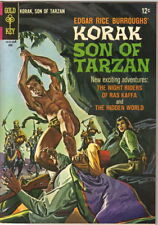 Korak Son of Tarzan Comic Book #13 Gold Key Comics 1966 FINE+