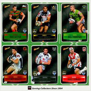 2012 Select NRL Champions Laser Stickers Card Full Set (192) Rare & Popular!