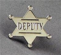 Metal Enamel Pin Badge Brooch Deputy Sheriff Sherriff Law Police