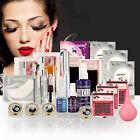 Pro False Eye Lashes Eyelash Extension Glue Removal Kit Tools Set Box Case