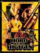 POSTER HOBO WITH A SHOTGUN TARANTINO GRINDHOUSE BIG #1