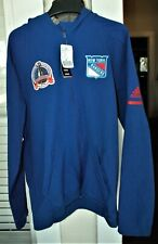 New York Rangers hoodie jacket! Adidas Men's Large 1994 Stanley Cup patch NWT