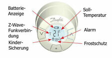 DANFOSS heizungssteuerungskopf (Dan lc13)/z-wave pilotee-OVP -