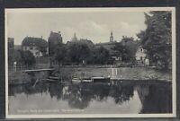 42448) AK Templin Perle der Uckermark Kanalschleuse ca. 1930 Kr. Prenzlau