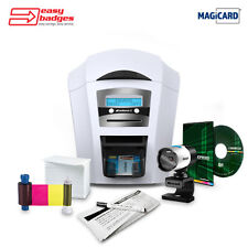 Magicard Enduro 3E Duo Complete Dual Sided ID Printer System for MAC & PC wit...