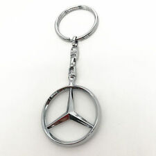 New 3D Car Logo Keyring Keychain Metal Pendant Key Holder for Mercedes-Benz