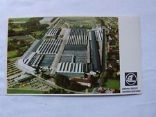 carte postale ancienne : usine CLAAS ( machine agricole )