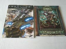 Dropzone Commander Core Rule Book & Forces of Hordes: Minions