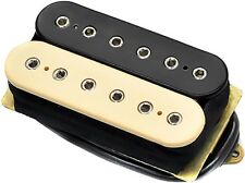 DiMarzio DP104 Super 2 Humbucker Distortion Ceramic Guitar Pickup, Black/Cream